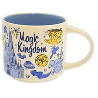 Disney Parks Starbucks Been There Magic Kingdom Coffee Mug New with Box