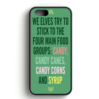 Christmas elf Quotes Funny iPhone 4s iPhone 5s iPhone 5c iPhone SE iPhone 6|6s iPhone 6|6s Plus Case