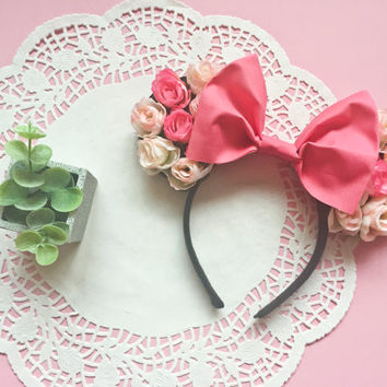 Sleeping Beauty Inspired Minnie Ears