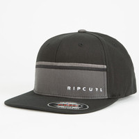 Rip Curl Madero Mens Hat Black One Size For Men 25166210001