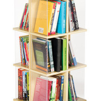 Guidecraft Rotating Book Display 3 Tier - G6318