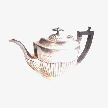 Vintage / Antique HAMO Deco Silver PlateTeapot Tea Pot