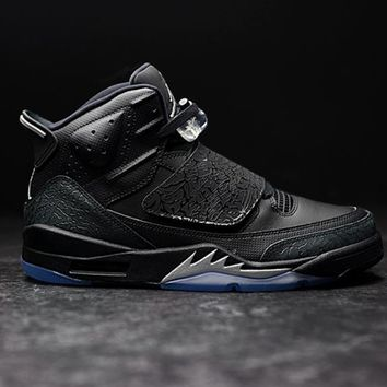spbest JORDAN - Men - Son of Mars - Black/Silver