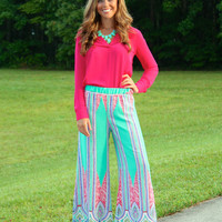 No Ordinary Love Palazzo Pants
