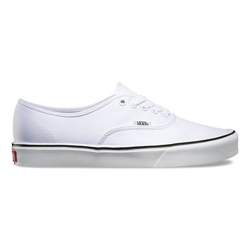 Vans Authentic Lite + True White Canvas