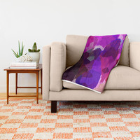 Love Affair Throw Blanket by mirimo