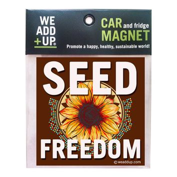Seed Freedom Magnet