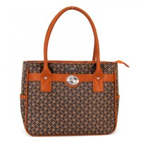 Flower Printed Tablet Tote - iPad & Tablet Cases