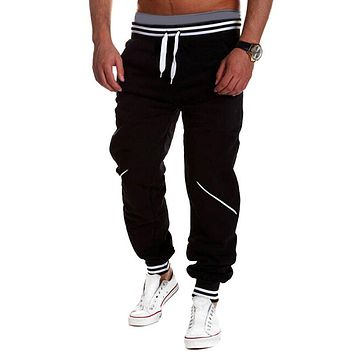 Harem Pants Hot New Style Fashion Men's Casual Sweatpants Jogger Sportwear Baggy Slacks Drop-crotch Trousers