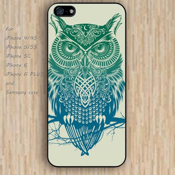 iPhone 5s 6 case colorful owl case cartoon iphone case,ipod case,samsung galaxy case available plastic rubber case waterproof B248
