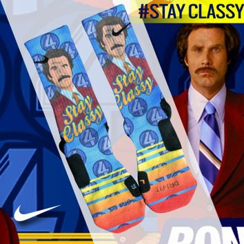 Custom Nike Elite Socks - Stay Classy | Lacrosse Unlimited