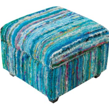 Surya Saturday Night 20 x 20 x 14 Ottoman SFL-3001 Ottoman