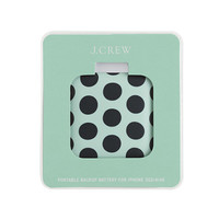 Printed backup battery for iPhone® - accessories - Women's new arrivals - J.Crew