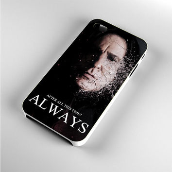 Severus snape always after all this time iPhone 4s Case