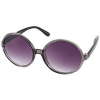 Clear Oversized Sunglasses - Festival Shop  - Collections