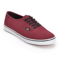 Vans Authentic Lo Pro Tawny Port Shoes