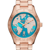 Michael Kors Women's Layton Rose Gold-Tone Stainless Steel Bracelet Watch 44mm MK6377 - A Macy's Exclusive - Watches - Jewelry & Watches - Macy's