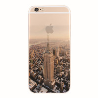 New York iPhone 5S 6 6S Plus Case + Gift Box-127