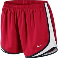 Women's Nike Tempo Running Shorts Sport Red/White/Black at Sport Seasons