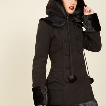 For the Winnipeg Coat in Black | Mod Retro Vintage Coats | ModCloth.com
