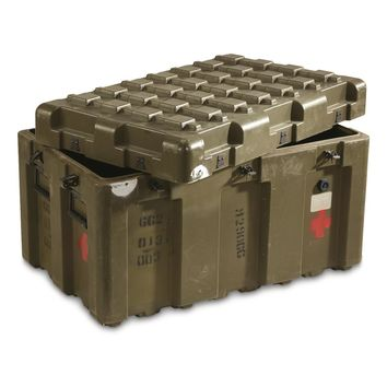 U.S. Military Surplus Storage Container Case, Used - 676516, Storage Containers at Sportsman's Guide