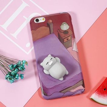 3D Kitty iPhone 7 Cases 6,6s,7,7+