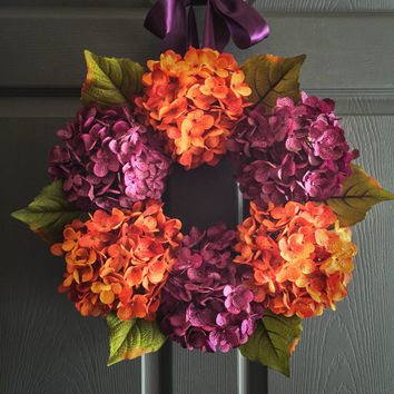 Fall Wedding Wreath - Wedding Decoration - Bridal Shower Decor - Etsy Wedding Decorations
