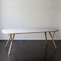 The Future Perfect - Peggy Table, Long - New