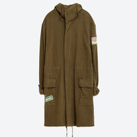 LONG OVERSIZED PARKA - View All-OUTERWEAR-WOMAN-SALE | ZARA United States
