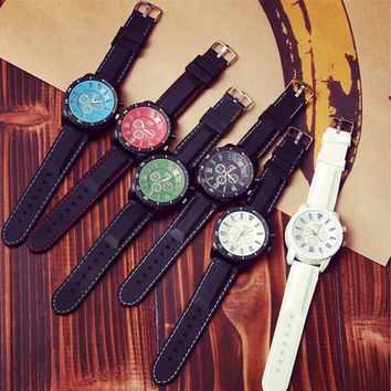 Cool Light Up Silicone Strap Sports Watch + Gift Box-465