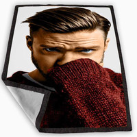 Justin Timberlake Blanket for Kids Blanket, Fleece Blanket Cute and Awesome Blanket for your bedding, Blanket fleece **