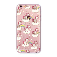 Spotted Baby Unicorn Rainbow Case for iPhone