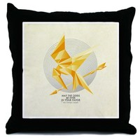 The Hunger Games Mockingjay Throw Pillow