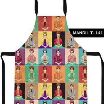 Frida Kahlo Cool Prictures Apron