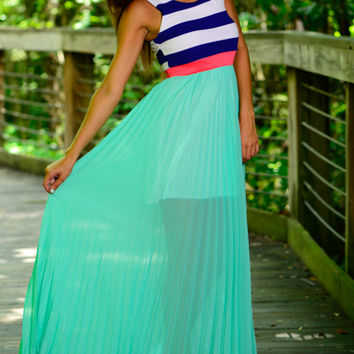 Accordion To Me Maxi, Mint