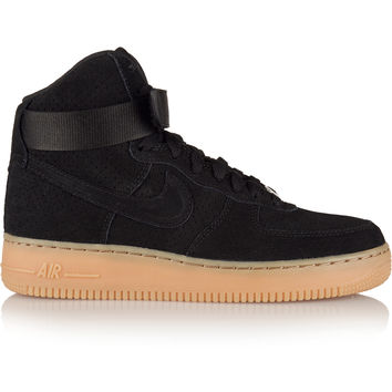 Nike - Air Force 1 Hi suede sneakers