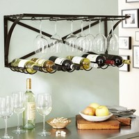 INDUSTRIAL ENTERTAINING SHELF