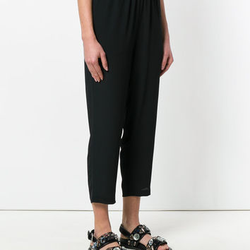 Marni Washed Crepe Drawstring Trousers - Farfetch