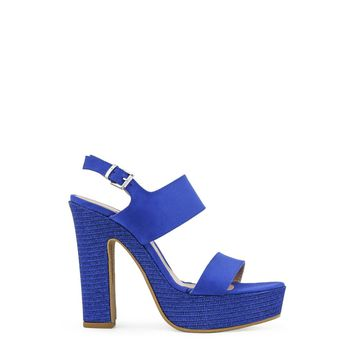 Paris Hilton Royal Blue Textured Heels