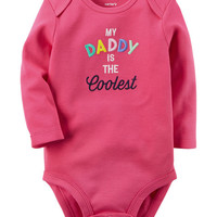 Daddy Is The Coolest Collectible Bodysuit