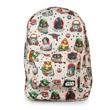 Star Wars Loungefly Tattoo Flash Print Backpack