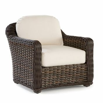 South Hampton Outdoor Wicker Lounge Chair
