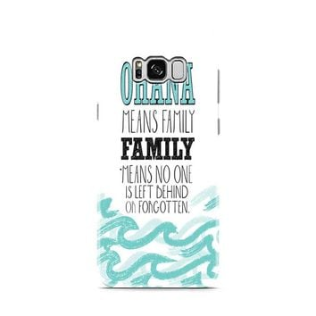 Ohana Means Family Lilo and Stitch Samsung Galaxy S8 | Galaxy S8 Plus case