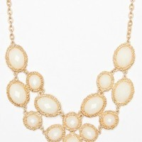 Jahan Necklace in Ivory - ShopSosie.com