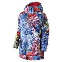The Nike Alpenglow Print Women's Hooded Jacket.