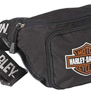 Harley Davidson Logo Belt Bag, Black