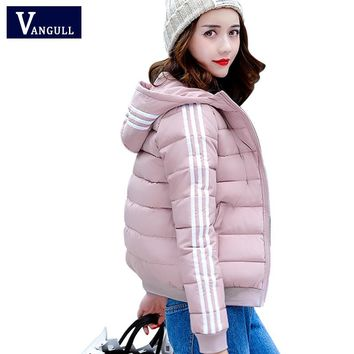 New Autumn Winter Jacket Coat 2017 Women Parka Woman Clothes Solid Long Sleeve Jacket Slim Women's Winter Jackets And Coats