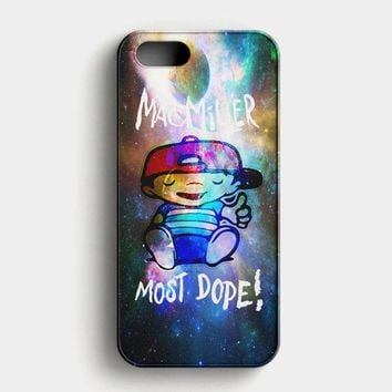 Mac Miller Most Dope Galaxy Nebula iPhone SE Case