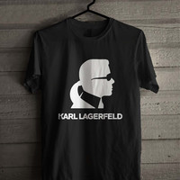 Karl Lagerfeld 0123 Shirt For Man And Woman / Tshirt / Custom Shirt