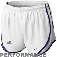 Nike TCU Horned Frogs Women's Tempo Performance Shorts - White